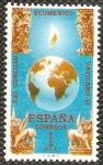 Sellos del Mundo : Europa : España : XXI concilio ecuménico vaticano II