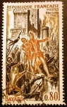 Sellos de Europa - Francia -  Bayard. Sitio de Brescia (1512)