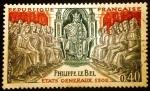 Sellos de Europa - Francia -  Philippe el Bello. Estados-Generales de 1302