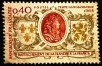 Sellos de Europa - Francia -  Tratado de Aix la Chapelle 1668