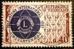 Sellos de Europa - Francia -  Cincuentenario de Lions International