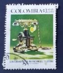 Sellos de America - Colombia -  Invencion del telefono