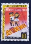 Sellos del Mundo : America : Colombia :  Instituto colombiano F.D. Roosevelt