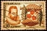 Sellos de Europa - Francia -  400º de Jean Nicot 1561-1961