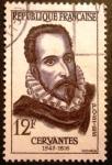 Sellos de Europa - Francia -  Celebridades extranjeras. Cervantes