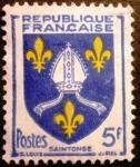 Sellos de Europa - Francia -  Escudo de Saintonge
