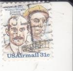Sellos del Mundo : America : Estados_Unidos : PIONEROS DE LA AVIACIÓN