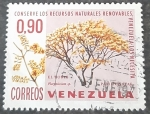 Sellos de America - Venezuela -   Arboles (Platymiscium sp.)
