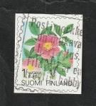 Sellos del Mundo : Europa : Finlandia : 1216 - Rosa acicularis