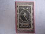 Sellos de America - Costa Rica -  Bruno Carranza Ramírez (1822-1891) Politico- Presidente en 1870- Sello de 2 Cénts.Año 1943.