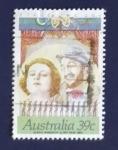 Sellos de Oceania - Australia -  Teatro