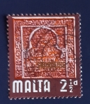 Sellos de Europa - Malta -  Arquitectura