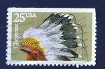 Sellos de America - Estados Unidos -  Cheyenne