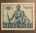 Sellos del Mundo : Europa : Eslovenia : Militares