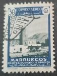 Sellos de Europa - España -  Marruecos español. Paisajes aéreos