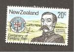 Sellos del Mundo : Oceania : Nueva_Zelanda :  RESERVADO CARLOS RODENAS