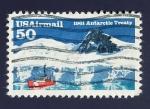 Sellos de America - Estados Unidos -  Antartida