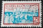 Sellos de Europa - España -  Marruecos español. Tipos indígenas