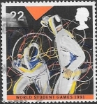Sellos del Mundo : Europa : Reino_Unido : deportes
