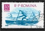 Sellos de Europa - Rumania -  Deportes en barco, Piragüismo