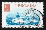 Sellos de Europa - Rumania -  Deportes en barco, Vela