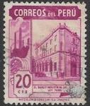 Sellos del Mundo : America : Perú : banco industrial