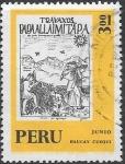 Sellos del Mundo : America : Perú : Calendario Inca