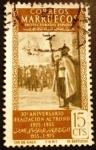 Sellos de Europa - España -  Marruecos español. 30º Aniversario de la Exaltación al trono de S.A. el Jalifa