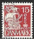 Sellos del Mundo : Europa : Dinamarca : 192 - 350 Aniversario del Servicio de Aduanas