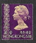 Sellos del Mundo : Asia : Hong_Kong : 284 - Isabel II de Inglaterra