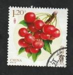 de Asia - China -  5544 - Cerezas