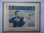 de America - Bolivia -  Jaime Laredo-Violinista - Homenaje al Violinista de Cochabamba.