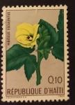 Sellos de America - Haití -  Flores