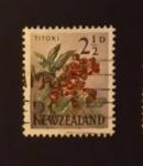 Sellos de Oceania - Nueva Zelanda -  Flores