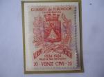 de America - El Salvador -  Escudo de Armas de Nueva San Salvador - 100 Años de la Ciudad d Nueva San Salvador (1854-195)