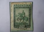 de America - Argentina -  104 Años de la Batalla Caseros (1852-1956)-Justo José Urquiza (1801-1870)- Presidente (1854/60)