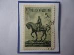 de America - Argentina -  Monumento al Teniente General Julio Argentino Roca (1884-1914) Presidente (1880/86) y 1898-1904).