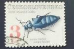 Sellos de Europa - Checoslovaquia -  Insectos