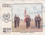 Sellos del Mundo : America : Perú :  ESCUELA MILITAR-CHORRILLOS