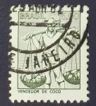 Sellos de America - Brasil -  Trabajo agricola