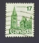 Sellos de America - Canadá -  Edificaciones