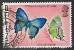 Sellos del Mundo : America : Belice : Mariposas - Thecla regalis