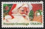 Sellos del Mundo : America : Estados_Unidos :  Navidad - Santa Claus