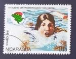 sello : America : Nicaragua : Deportes