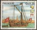 Sellos del Mundo : America : Paraguay : 19 Congreso UPU y Exposición Filatelica de Hamburgo