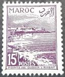 Sellos de Europa - Francia -  MARRUECOS FRANCÉS 1954. Punta Oudaias