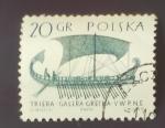 Sellos de Europa - Polonia -  Barcos