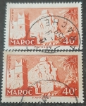 Sellos del Mundo : Europa : Francia : MARRUECOS FRANCÉS 1955. Pueblo de Taffraout