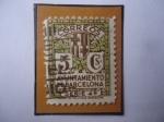 Sellos de Europa - España -  Ed:Es BA12- Ayuntamiento de Barcelona- Sello de 5 Céntimo Español. Año 1932-Serie:Ayuntamiento de Ba