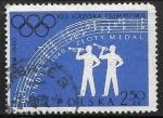 Sellos del Mundo : Europa : Polonia :  Juegos Olimpicos de verano 1960 - Roma